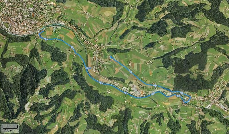 Strecke Bärau - Langnau