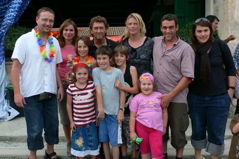 Peter Maffay mit unserer Gruppe