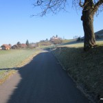 Blick zum Schloss Trachselwald