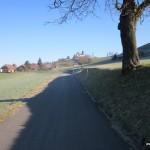 Blick zum Schloss Trachselwald