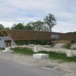 Die neue Brücke bei Burgdorf.