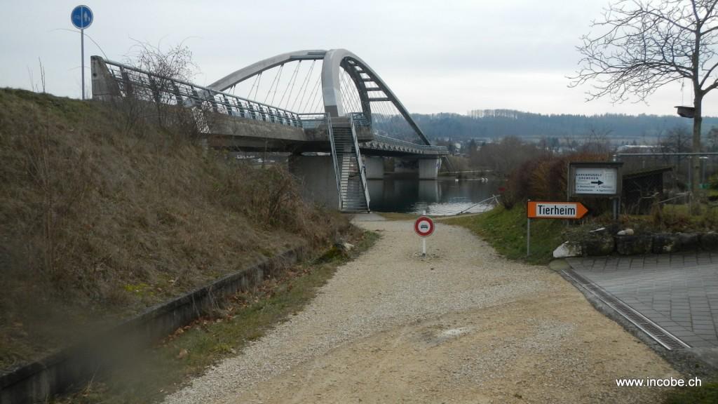 unterwegs Richtung Solothurn