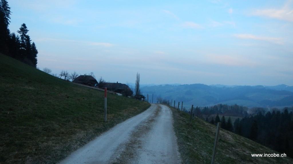 Richtung Mützlenberg unterwegs
