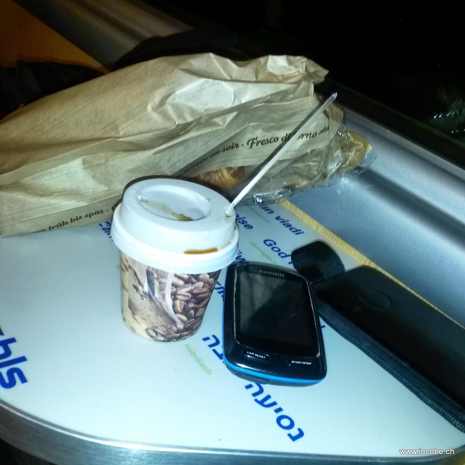 Kaffee und Gipeli müssen sein