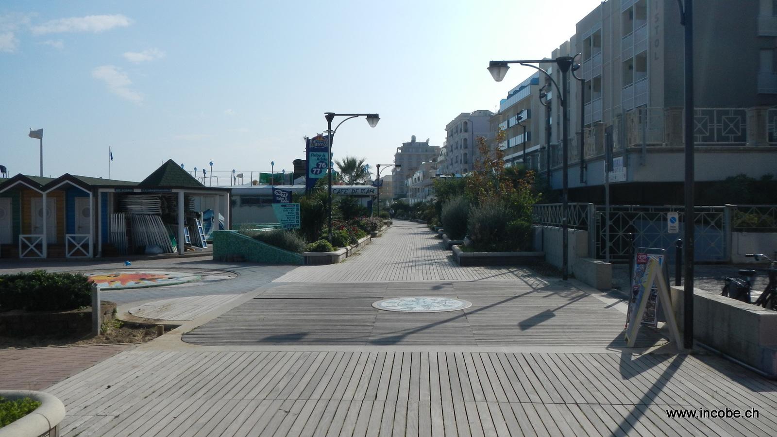 Strandweg in Gattolica